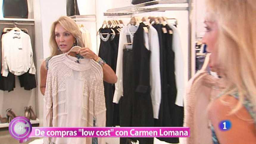 Más Gente - Carmen Lomana nos lleva de compras low cost