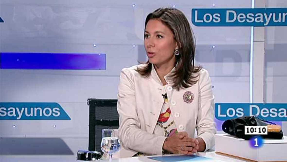 Los desayunos de TVE - Alicia Sánchez-Camacho, Pta. PP de Cataluña - Ver ahora