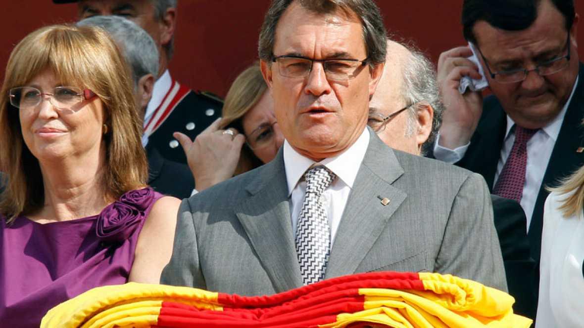 Artur Mas hace hincapié en la reclamación del pacto fiscal