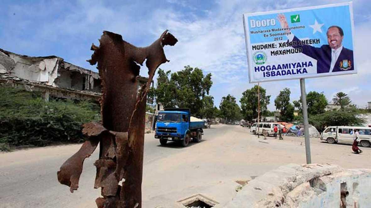 Somalia ha elegido a Hassan Sheij Mohamud como su nuevo presidente