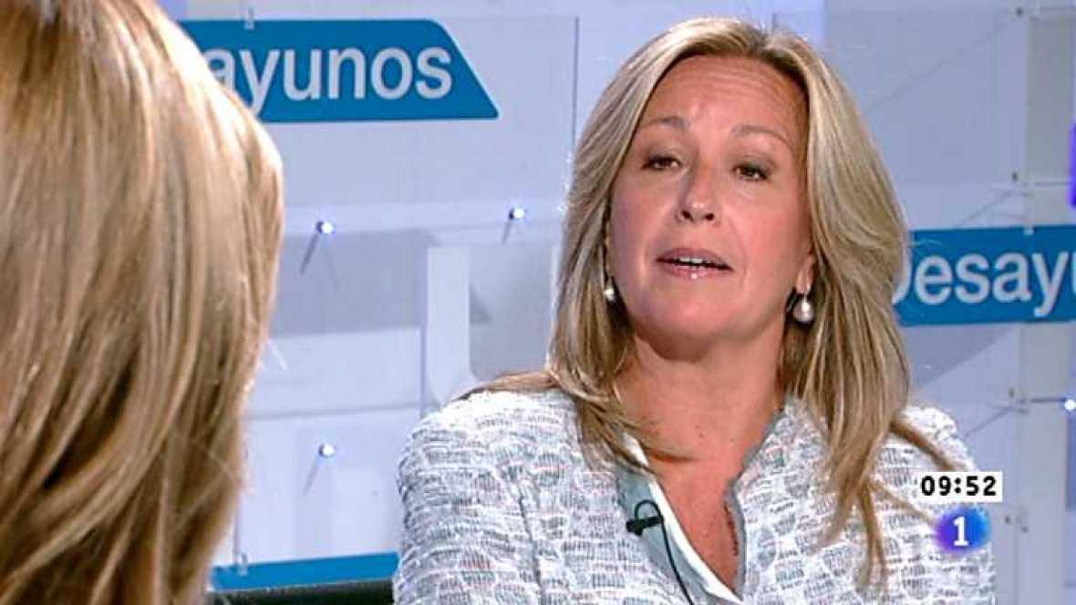 Los desayunos de TVE - Trinidad Jiménez, Secretaria de Política social del PSOE - Ver ahora