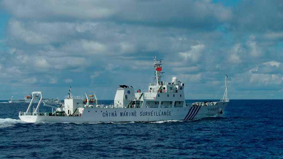 Seis patrulleras chinas entran en aguas japonesas de las disputadas islas Senkaku