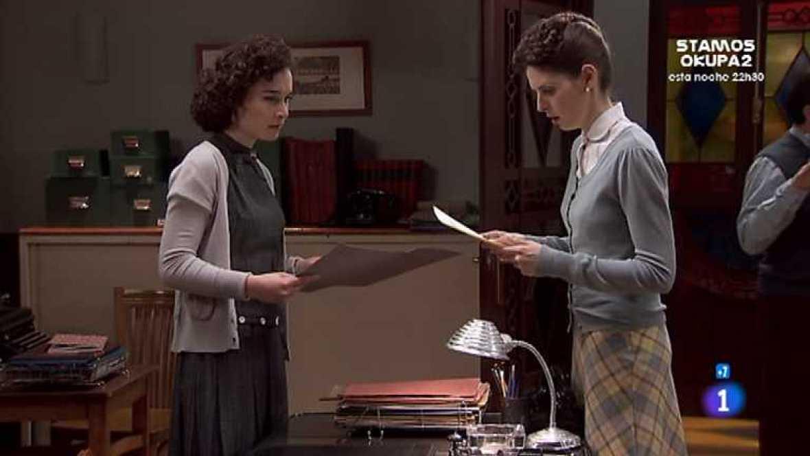 Amar en tiempos revueltos - T7 - Capítulo 213 - Cecilia, desesperada por las noticias sobre la desaparición de Alberto, busca a Matilde para saber su paradero - Ver ahora