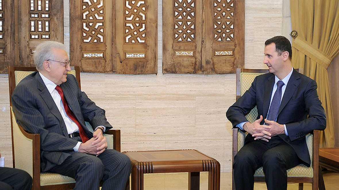 El mediador de la ONU se reúne con Asad en Siria