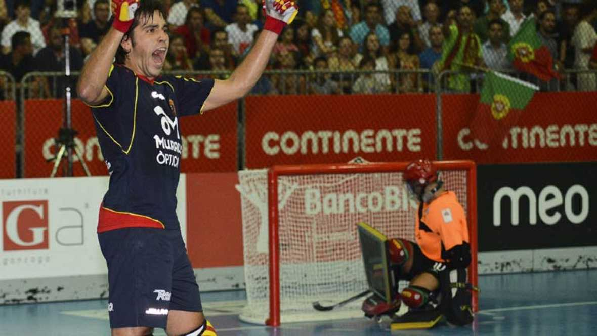 Hockey sobre patines - Campeonato de Europa: España-Portugal - Ver ahora