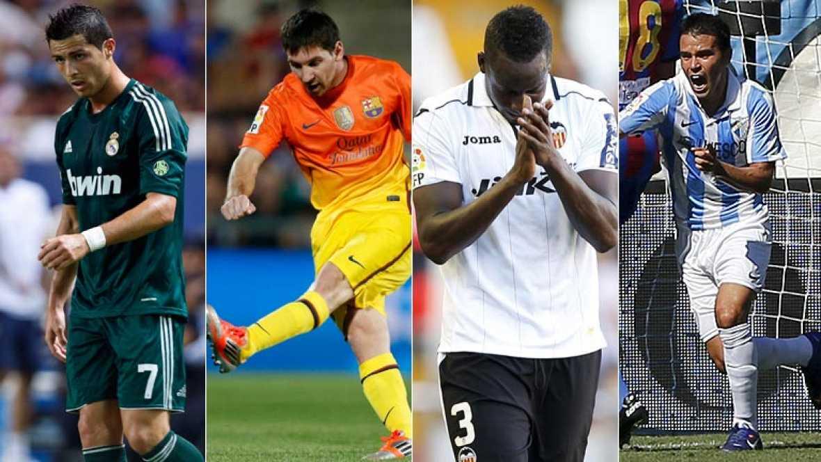 Vuelve la Champions para Real Madrid, Barça, Valencia y Málaga