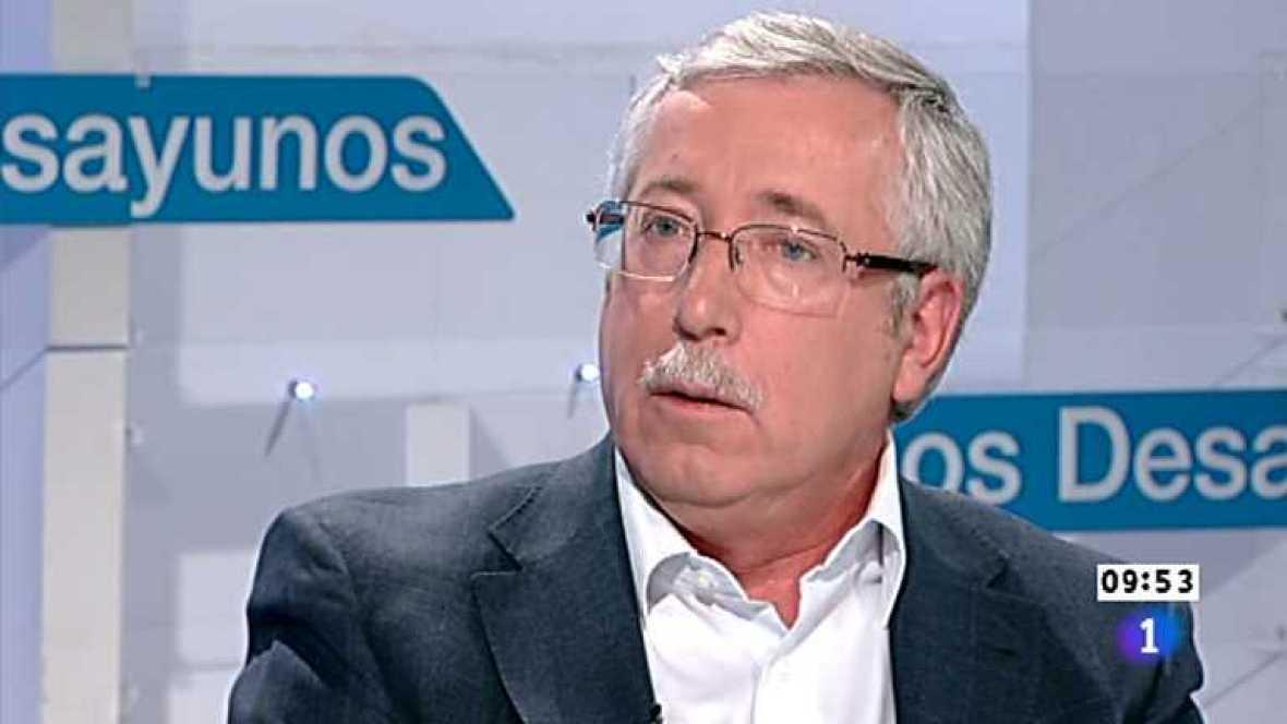 Los desayunos de TVE - Ignacio Fernández Toxo, Secretario general de CC.OO - Ver ahora