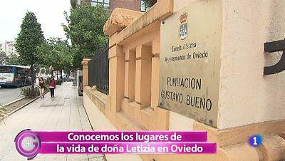 Más Gente - Ruta por el Oviedo de Letizia Ortiz