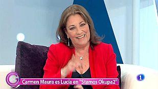 Más Gente - Carmen Maura nos invita a ver 'Stamos Okupa2'