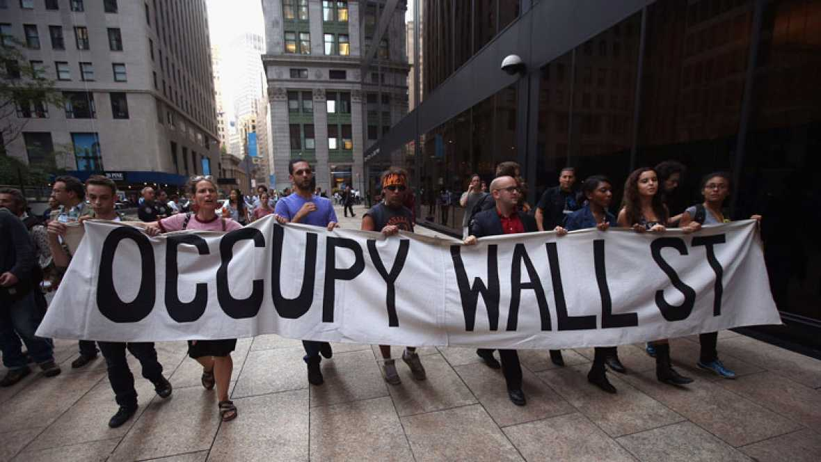 La policía detiene a más de un centenar de activistas de 'Ocupa Wall Street' en su primer aniversario
