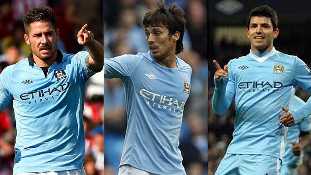 El Manchester City de Agüero, Silva y Javi García, viejos conocidos del Real Madrid
