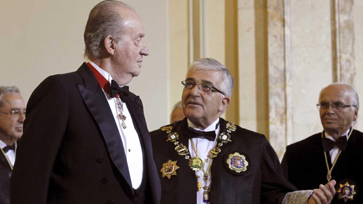 El Rey pide unidad ante la crisis en una carta publicada en la página web de la Casa Real