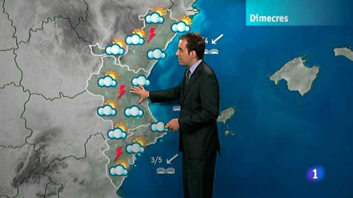 El tiempo en la Comunidad Valenciana - 18/09/12 - Ver ahora