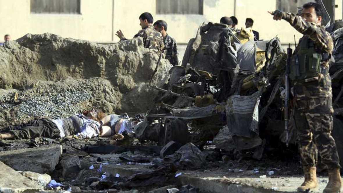 Un atentado causa 12 muertos en Afagnistán por el vídeo 'blasfemo'