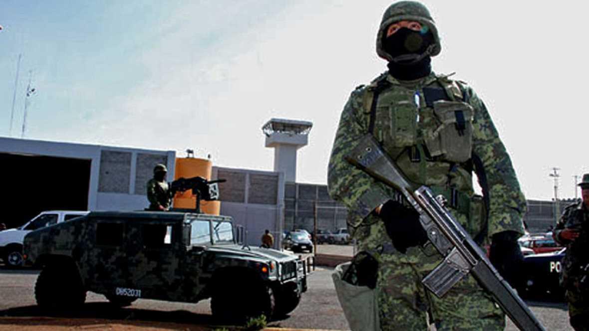 Continúa la busqueda de 131 de los presos fugados en México