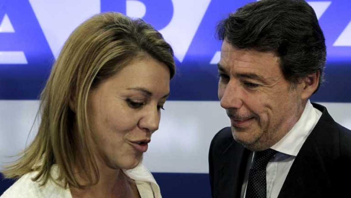"""""""Respaldo absoluto"""" a González como sucesor de Aguirre"""