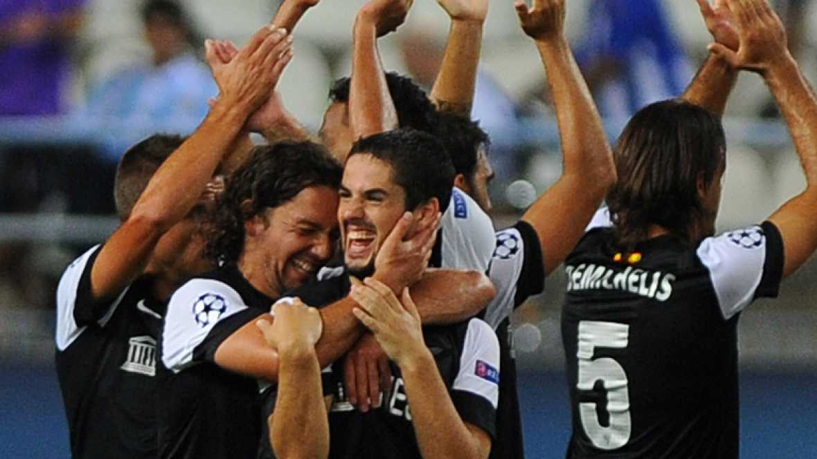 Debut soñado del Málaga en Champions
