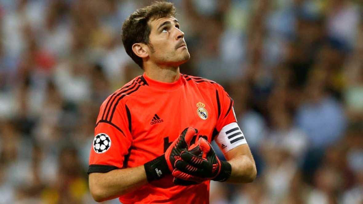 Casillas no celebró los goles en la remontada ante el City