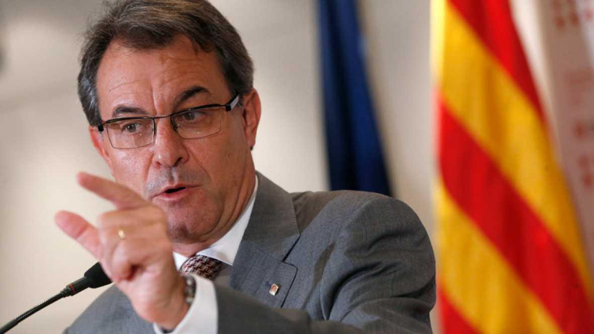 Artur Mas descontento con la reunión