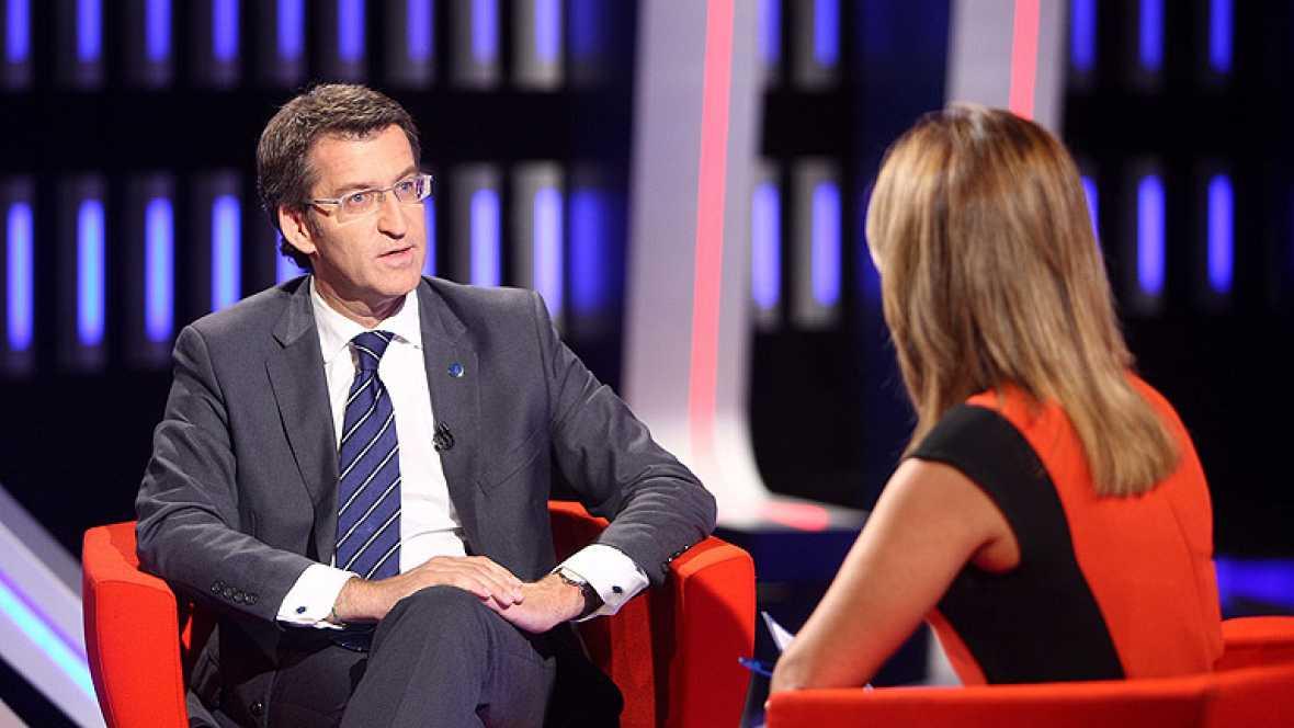 Núñez Feijóo dice que cumplir con el déficit rebajaría el debate autonómico
