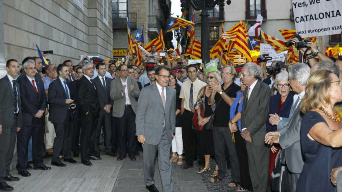 Cataluña centra la actualidad política