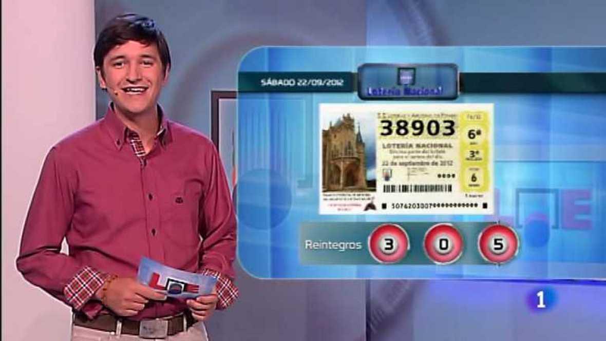 Lotería Nacional - 22/09/12- Ver ahora