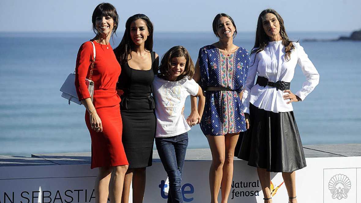 'Blancanieves' se pone de largo en San Sebastián