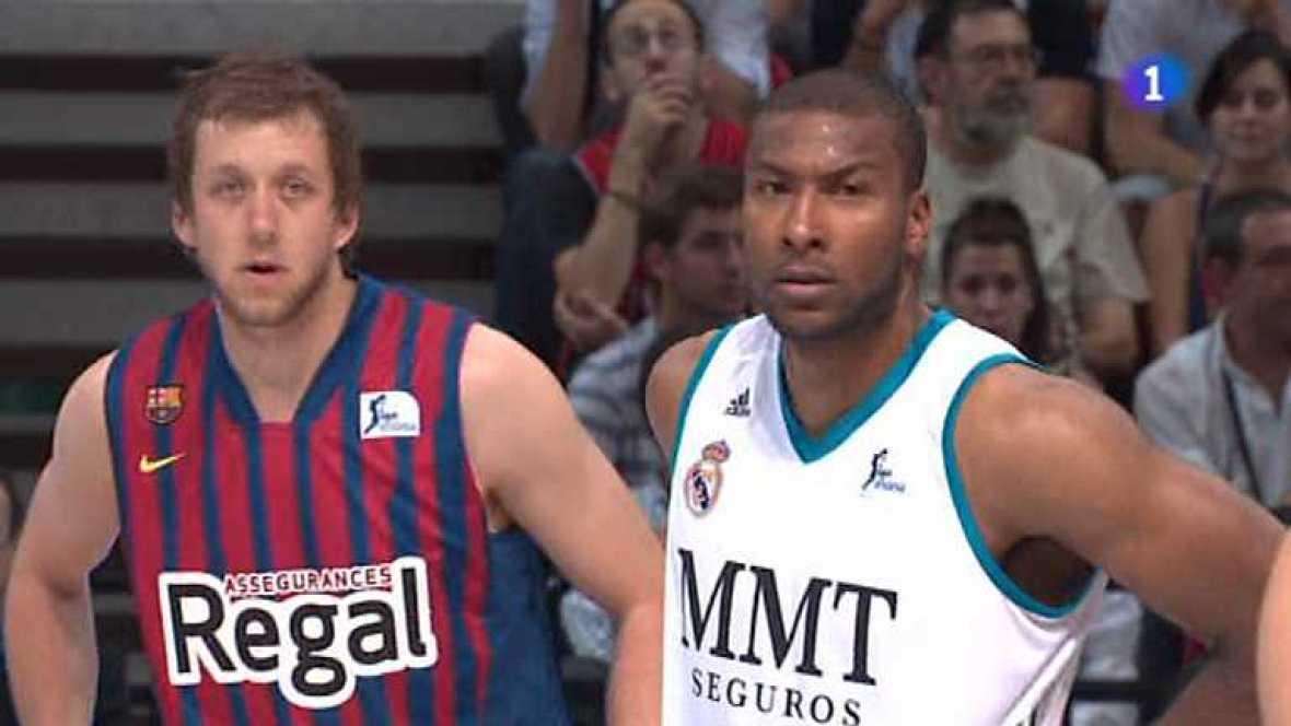 Baloncesto - Supercopa de España - Final: Barcelona Regal-Real Madrid - Ver ahora