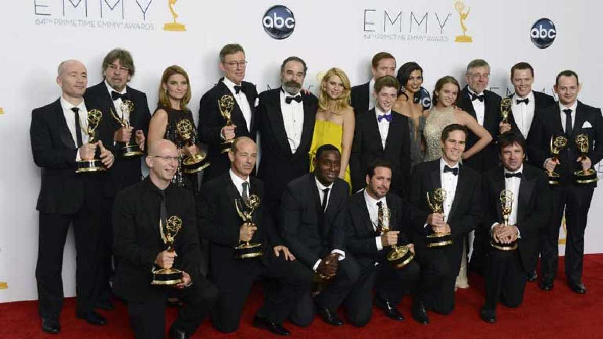 'Homeland' y 'Modern Family' salen como vencedoras de la noche de los Emmy