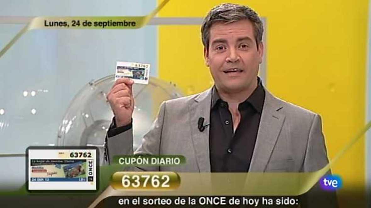 Sorteo ONCE - 24/09/12 - Ver ahora