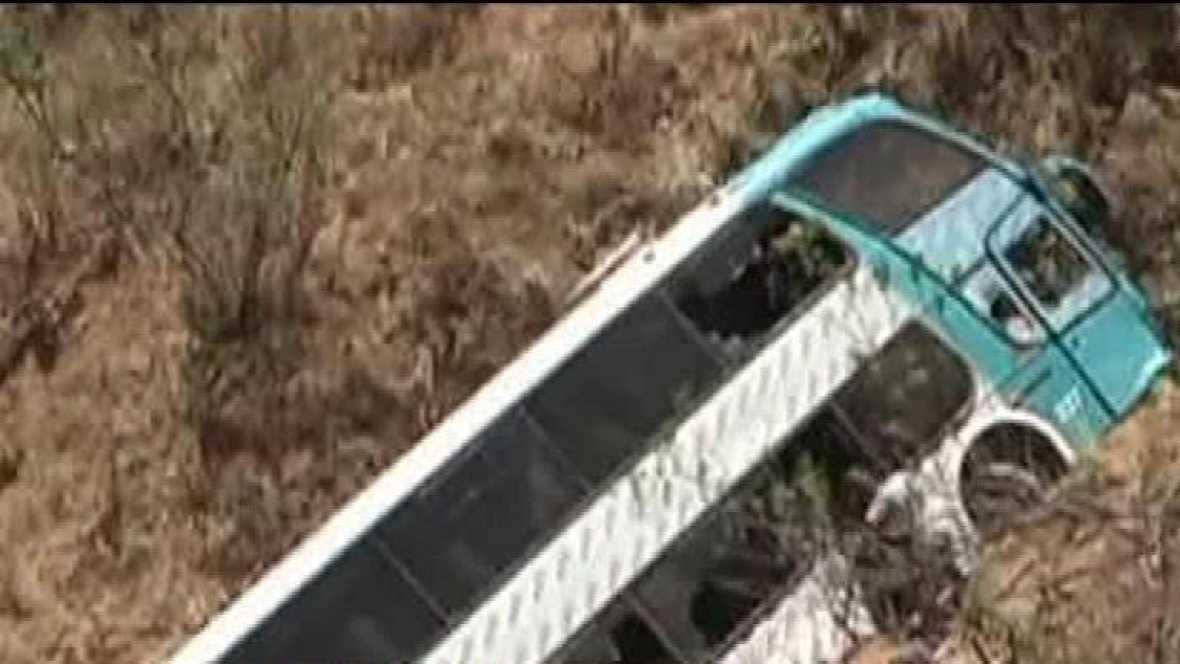 22 muertos en un accidente de autobús en Perú