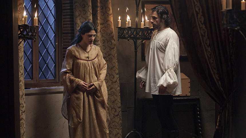 Isabel - Juana de Avis embarazada de otro