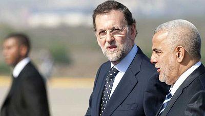 Rajoy busca cerrar acuerdos comerciales con Marruecos