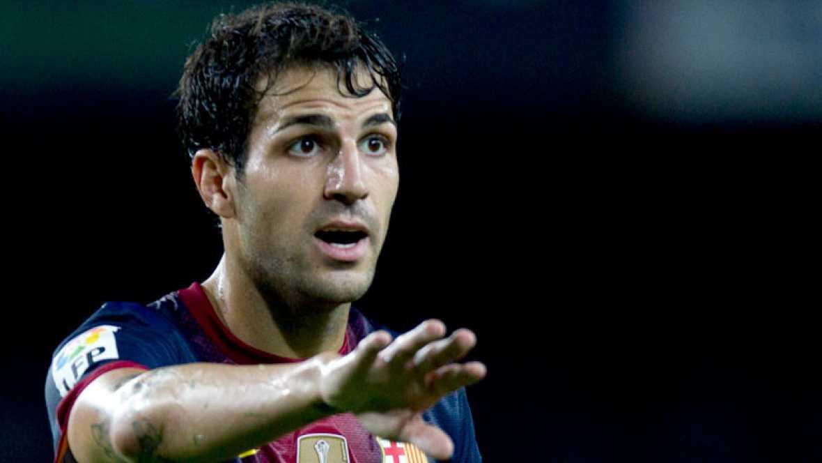 Cesc cree que el madrid no se juega tanto en el 39 cl sico for A que hora juega el barcelona hoy