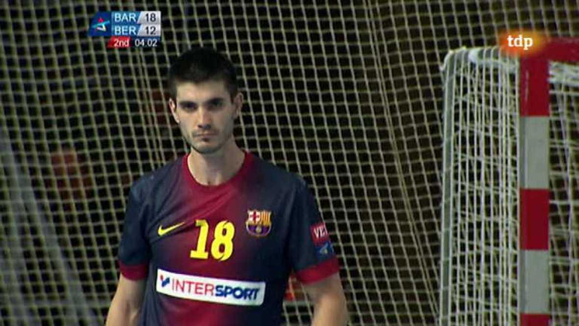 Balonmano - Liga de Campeones - FC Barcelona Interspot-Fuchse Berlín - ver ahora