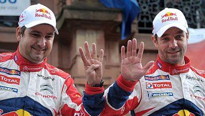 Loeb suma su noveno campeonato del mundo de Rallies