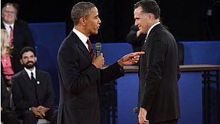 Obama contraataca y consigue remontar frente a Romney en el segundo debate
