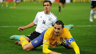 Alemania se deja empatar tras ir venciendo 4-0 a Suecia
