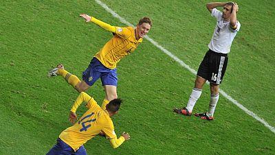 Espectacular remontada de Suecia frente a Alemania