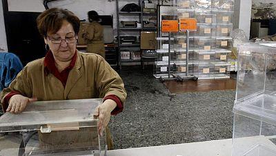 Un total de 55 millones de papeletas y 4.028 mesas en los comicios gallegos