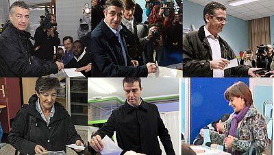 La participación electoral en el País Vasco mas baja que en el 2009