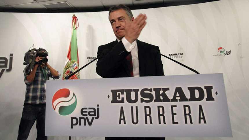 """Urkullu se ofrece a """"amplios acuerdos"""" con todos los partidos"""