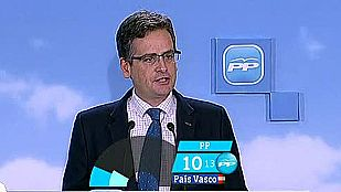 El PP pierde tres escaños y se constituye como cuarta fuerza política en el País Vasco