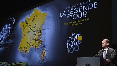 El Tour de Francia de 2013 lo ganará un escalador o un ciclista que se defienda bien en montaña, si atendemos al recorrido presentado hoy por los organizadores que han querido dar una dimensión particular a la centésima edición de la carrera para mir