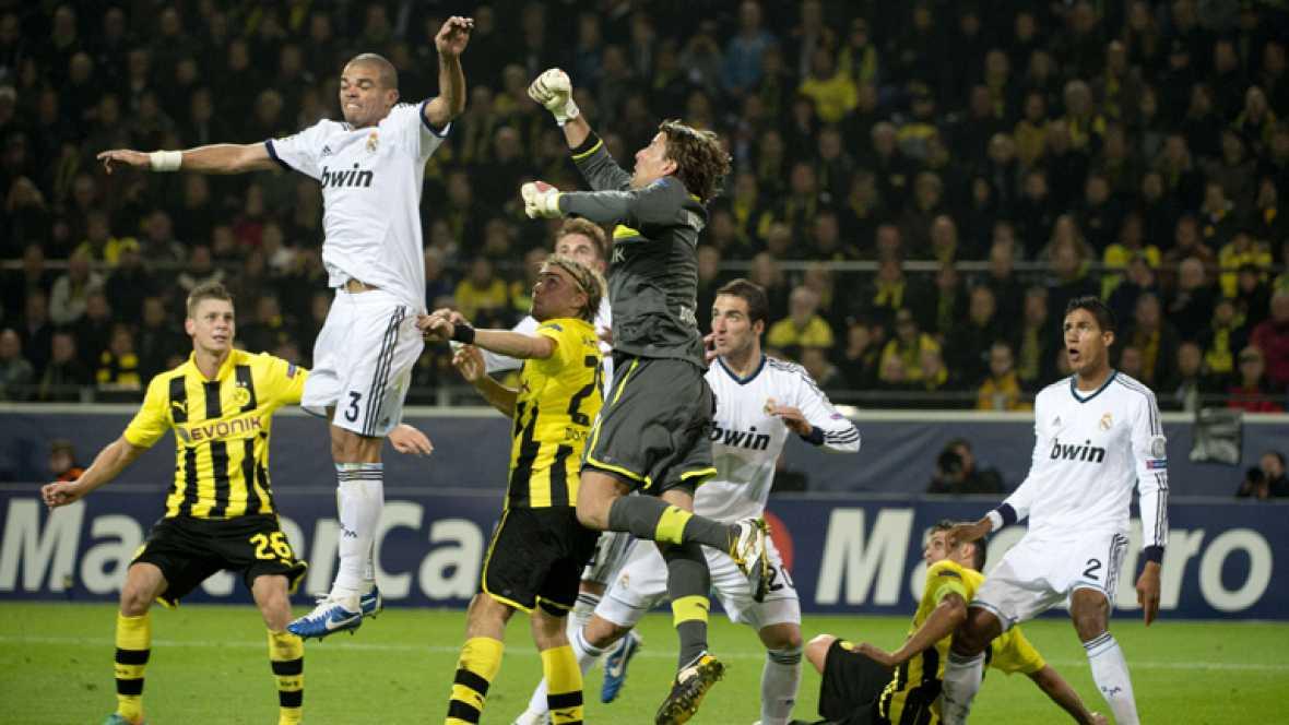 El Madrid continúa sin ganar en Alemania