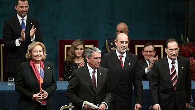 Oviedo vive la ceremonia de los Premios Príncipes de Asturias