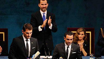 El Príncipe de Asturias en su discurso anima a los españoles a mantener la confianza en el futuro
