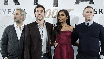 """007 está en Madrid, misión, presentar a todos """"Skyfall"""""""