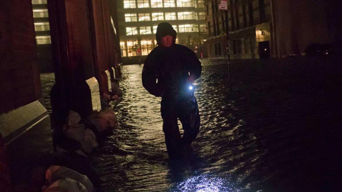 Españoles que viven en Nueva York narran su experiencia con el huracán Sandy