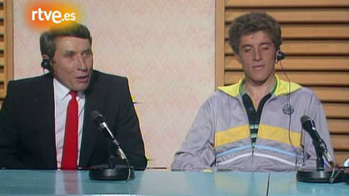 Entrevista a Jacques Anquetil en 'Estudio Estadio' (1985)